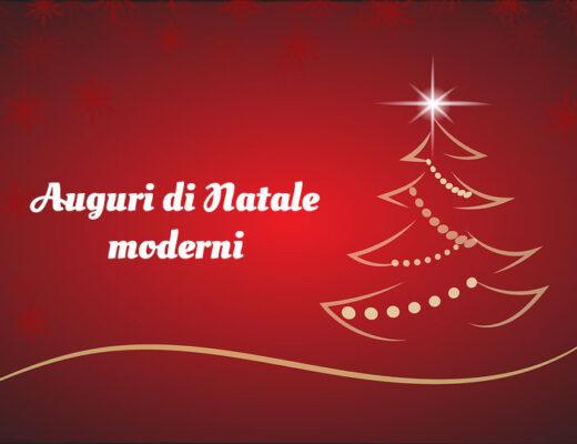 Auguri di Natale moderni